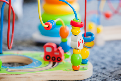 Educational toys for a classroom of 30 children.