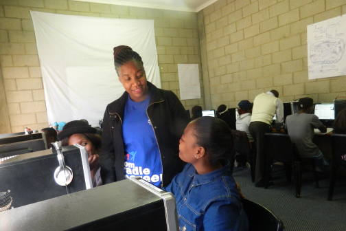 Job skills training for 1 young adult.