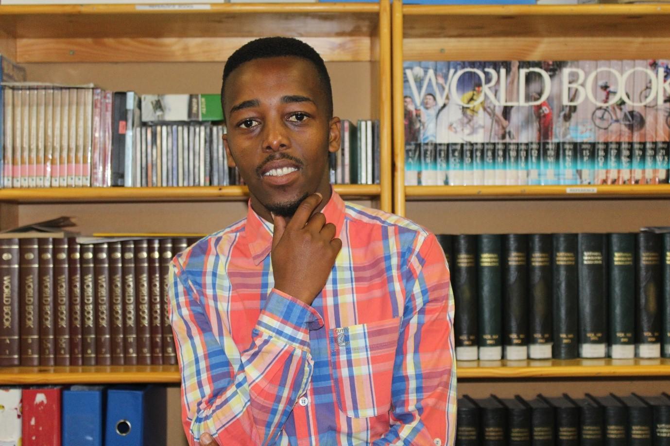 Ntsiki becomes his family's hero, Ntsikelelo Mkoko